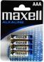 Maxell LR03 4 Blister