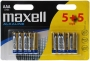 Maxell LR03 5+5 Pack